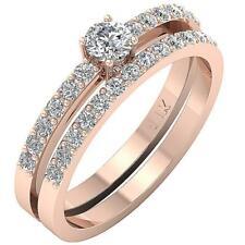 Bridal Engagement Ring 1.00C I1 H Round Diamond White Yellow Rose Gold Appraisal