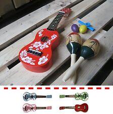 Ukulele/Sopran-inclusive Rhythmuspaket-Hawaii-Sound-Marakas, Sound-Eggs, Kazoo