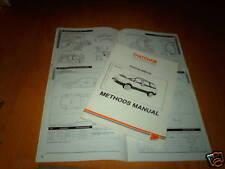 Manual de métodos de reparación del cuerpo Toyota Previa GL