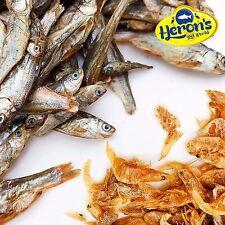 HÉRONS crevettes & poisson séché, petite / moyenne / grande tortue TERRAPIN CICHLID nourriture