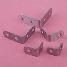 10pcs Stainless Steel L Shape 90 Degree Right Angle Bracket Corner Brace Joint