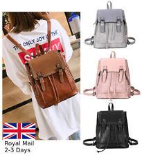 Fashion Ladies Women Leather Backpack Bag Rucksack Handbag College Satchel Tote