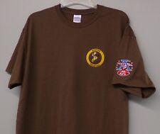 NFL AFL Denver Broncos Original Logo Embroidered T-Shirt S-6XL, LT-4XLT New