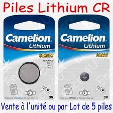 Pile Bouton CR Lithium 3V CR2477 / CR927 ( vendue à l'unité ou par lot de 5 )
