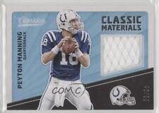 2017 Panini Classics Classic Materials #CM-PM Peyton Manning Indianapolis Colts