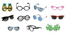 Unisexe fancy dress up party lunettes geek nuances costume hippie top gun livre semaine