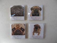 Pugs & Kisses Nail File Matchbook Emery Board Novelty Paw Prints Shaped Pets Dog