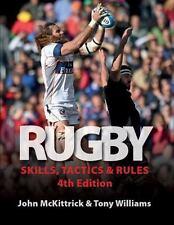 Rugby Skills, Tactics and Rules, McKittrick, John, Williams, Tony