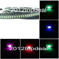 20~1000pcs high power LED SMD CHIP 1206 White Red Green Blue Yellow Orange LED