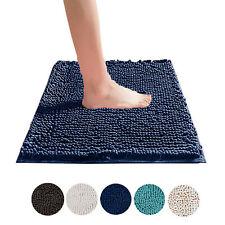 Microfibre Bath Rug Anti Slip Soft Shaggy Chenille Bathroom Floor Mats Towelogy®