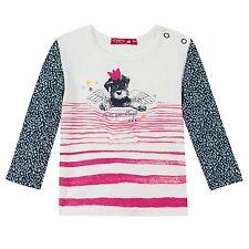 7ec8f1575253 CHIPIE Longsleeve rosa Logo Hund Engel schwarz pink 62 68 87 80 86 92 98 NEU