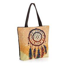 Womens Tribal Dream catcher Shoulder Beach Bag Large Summer Tote ShoppingTravel