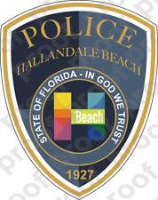 STICKER POLICE HALLENDALE BEACH FL