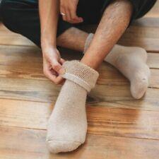 Men's Fashion Rabbit Wool Socks Extra Thick Hosiery Tube Cool Winter Trendy Gift