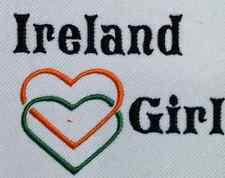 Ireland Girl Baby Bodysuit Embroidered