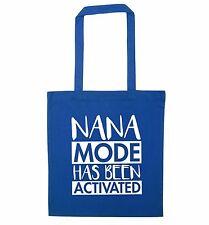 Nana mode tote bag Gran Grandma grand daughter Grandson joke Nanan newborn  3680