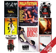 A3 Quentin Tarantino film tutte le opzioni poster foto stampa Pellicola Home Decor Art