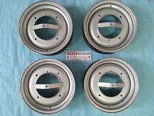 FIAT 500 F/L/R 4 CERCHI IN FERRO MOD. ARCHETTO 500L RUOTE 3,5 x 12 EPOCA 4X19