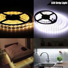5 M 300 LED Luz de Tira Blanco Cálido Blanco Cinta Adhesiva 5050 luz del gabinete de cocina