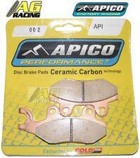 Apico Ceramic Carbon Front Brake Pads Suzuki DR 250 1990-1995 RM 250 1987-1995