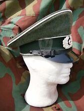Schirmmutze sottufficiali, cappello tedesco Wehrmacht, German NCO visor cap WW2