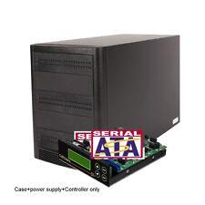 1-4 Copystars lightscribe CD dvd duplicator controller + SATA 5 Bay case+cable