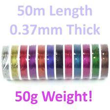 0.37mm x 50m Binding Tiger Tail Wire Roll Florist Jewellery Craft Beading
