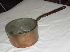 "Vintage copper pot cookware 7 1/2"" pan dovetail bottom"