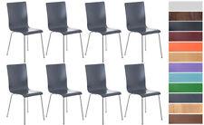 Set 8 Chaises de cuisine PEPE chaise de visiteur ou de conférence en bois