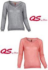 QS by s.Oliver Damen Pullover   Langarm Rundhals Party Freizeit Outfit Pulli