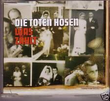 """DIE TOTEN HOSEN """"Was Zählt"""" 4 Track CD  RARE"""