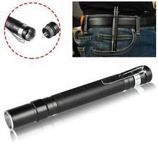 Zoom telescópico Portable Clip de bolsillo Mini linterna LED linterna BF