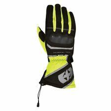 Oxford Montreal 1.0 Mens Textile Waterproof Motorcycle Gloves Black/Fluo 2018