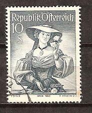 AUSTRIA # 556 Used COSTUME OF VIENNA 1850  (1)