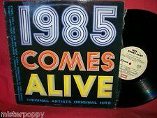 1985 Comes Alive LP AUSTRALIA EX+ U2 Duran Duran Tina Turner The Radiators etc.