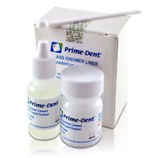 Prime-Dent Permanent Glass Ionomer CEMENT Dental Luting Cement FDA