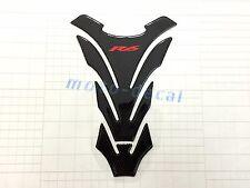 Real Carbon Fiber For Yamaha YZF R6 Emblem Gas Tank Decal Protector Pad Sticker