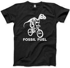 Combustibile fossile CICLISMO-Dinosauro Ciclo Bicicletta Bambini T-shirt