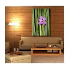 Tableaux toile déco rectangle fleur couleur 79440538