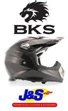 BKS FREESTYLE CARBON FIBRE MX MOTOCROSS MOTORCYCLE HELMET OFF-ROAD MOTO-X J&S