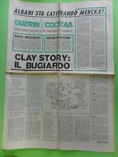 GUERIN SPORTIVO GIORNALE. SOLO ALLEGATO GUERIN COCKTAIL.  N.33 SETTEMBRE 1970
