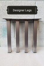 4x Coffee Table / Bench Industrial legs Designer Metal Steel Hairpin