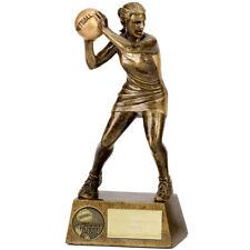 Pinnacle Netball Trophy - Free Engraving - Solid Resin