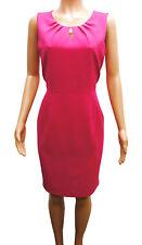 b68db8da2 Kasper Rosa Cerradura Vestido Recto Mujer Pequeño 12P