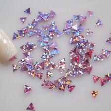 30pcs Holographic Holo Embellishment Nail Art Metallic Decor Style Spark Glitter