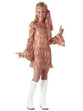 Disco Dolly 1960s 1970s Hippie Hippy Go Go Retro Book Week Girls Costume