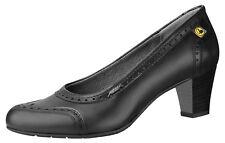 ABEBA® Business Berufsschuhe Damen schwarz Glattleder ESD 3990-000 Größe 37 - 42