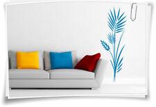 Wandtattoo Banner Blumen Ranke Wandaufkleber Aufkleber Streifen Deko Wand