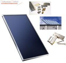 Sunline Solarkollektor Flachkollektor Sonnenkollektor für Solaranlage 2,06m²