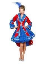Damenjacke Fleur de Lis Karnevalkostüm Faschingskostüm
